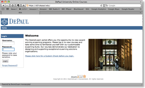 D2l James Moore S Blog At Depaul University