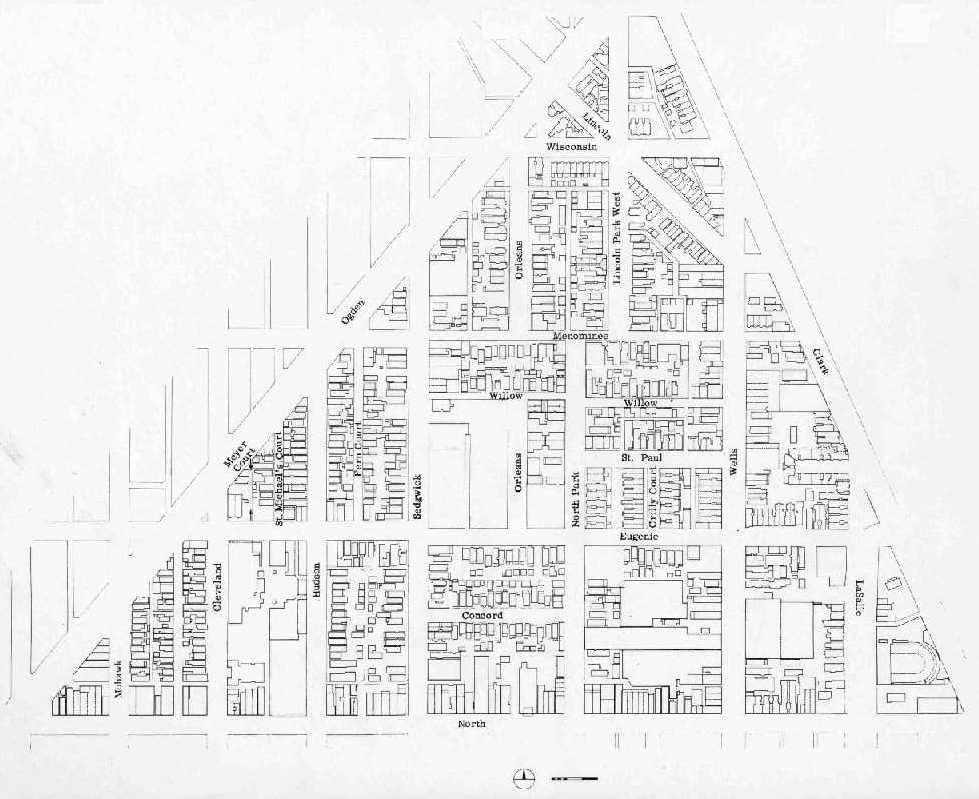 West Town Chicago Map.Urban Renewal In Lincoln Park
