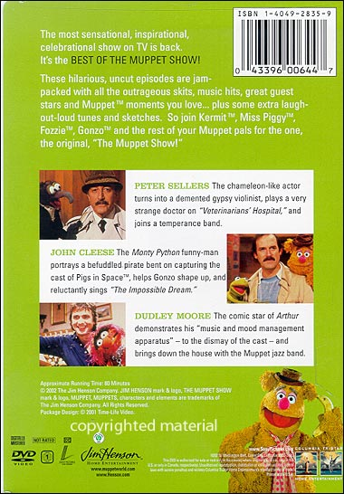 Best Of The Muppet Show - Sellers, Cleese, Moore