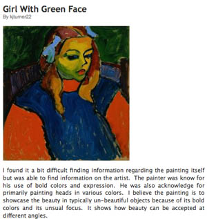 the unique composition of the painting girl with a green face by alexei jawlensky Here this is stieglitz here francis picabia 1915 pen, brush and ink, and cut and pasted printed papers on paperboard dada.