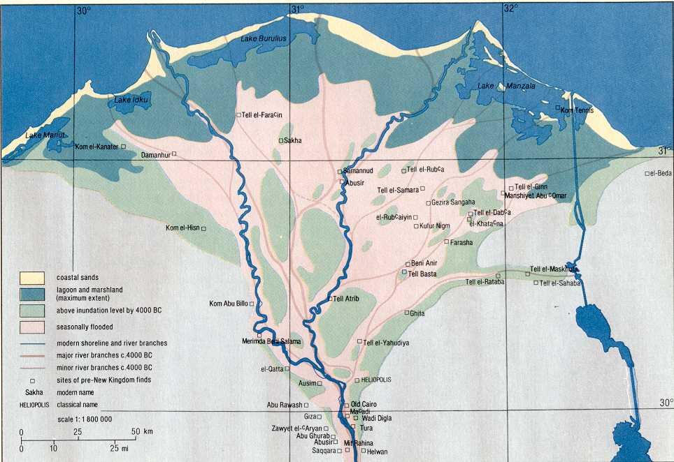 Deltajpg - Map of egypt delta